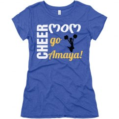 Cheer Mom Purple T