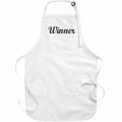 Basic White Apron