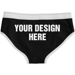 Custom Ladies Underwear Briefs