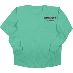 Harvard law varsity shirt